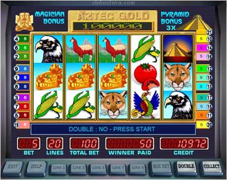 Играть бесплатно в игровые автоматы aztec gold система джекпот игровые автоматы слотс