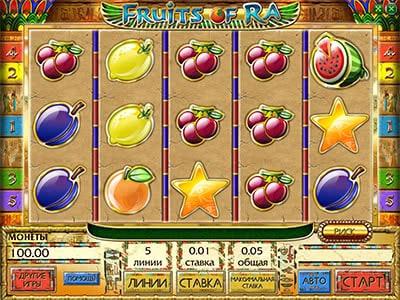 бесплатно игровые фрукт коктейль автоматы